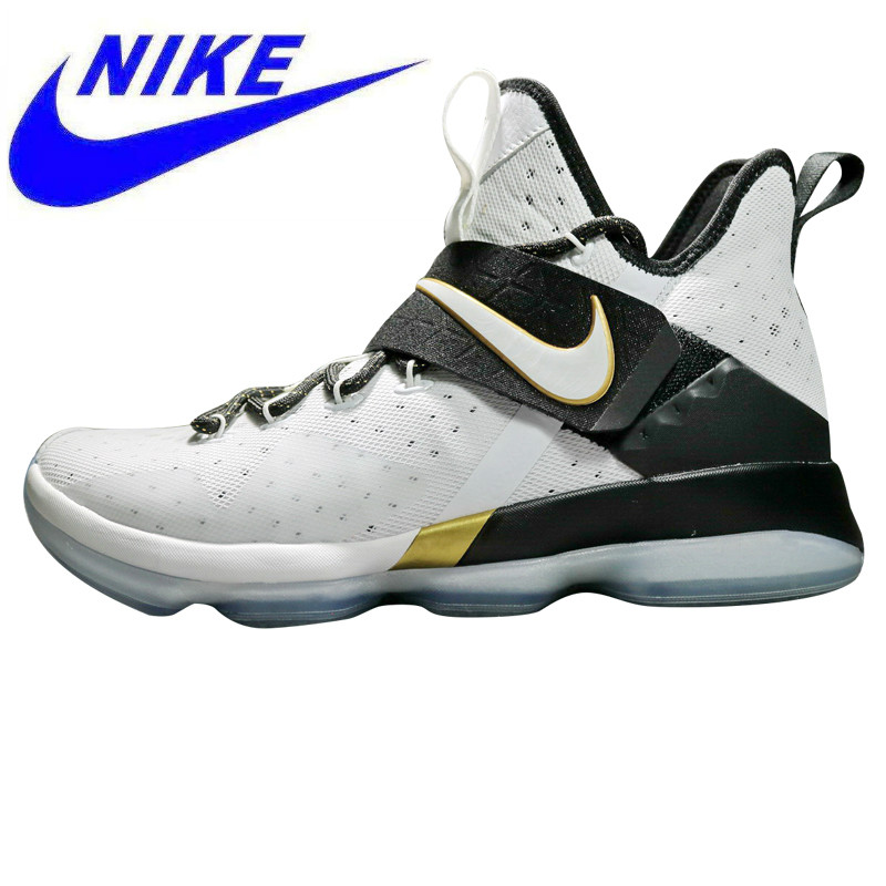separation shoes 85f5d 0277a NIKE LeBron 14 BHM LBJ14 Men Basketball Shoes, Shock Absorption Non Slip  Wear Resistant,Outdoor Sneakers Shoes,White 860634 100-in Basketball Shoes  from ...