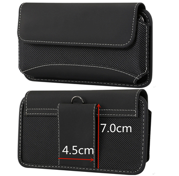universal mobile phone holster pouch and waist pack with belt clip for all mobile phones