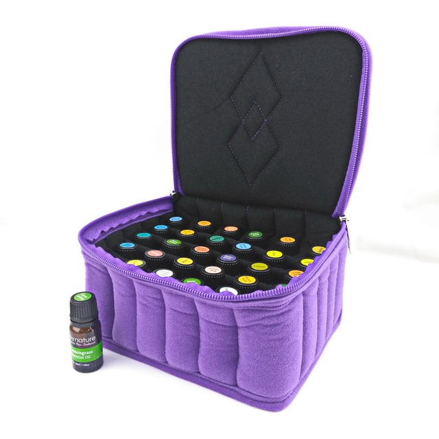 Travel Portable Essential Oil Carrying Case Hold 30 Bottles 5 15ml Doterra Young Living