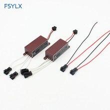 Fsylx инвертором CCFL для автомобильных светодиодный Ангельские глазки Halo Кольцо CCFL запасной балласт для BMW E46 E39 E38 E36 E32 E34 светодиодный CCFL балласт воспламенитель