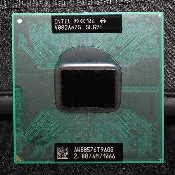 Intel Core 2 Duo Mobil T9600 2.8 GHz 1066 MHz 6 M Dizüstü IŞLEMCI Işlemci