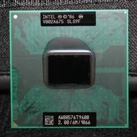 Intel Core 2 Duo Mobile T9600 2 8GHz 1066 MHz 6M Laptop CPU Processor