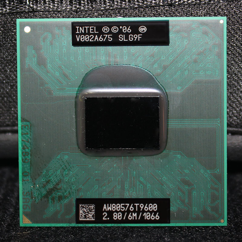 Intel Core 2 Duo Mobile T9600 2,8 GHz 1066 MHz 6 Mt Laptop CPU Prozessor