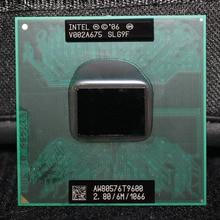 Intel Core 2 Duo Mobile T9600 2.8GHz 1066 MHz 6M Laptop CPU Processor
