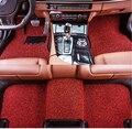LUNDA ajuste Personalizado esteras del piso del coche para Nissan altima Rouge Murano x-trail Sylphy Sentra versa sunny Tiida 3D car-styling alfombra lin