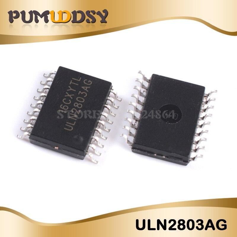 100 шт. ULN2803AFWG SOP18 ULN2803AG SOP ULN2803 SMD ULN2803A Новый и оригинальный IC Бесплатная доставка