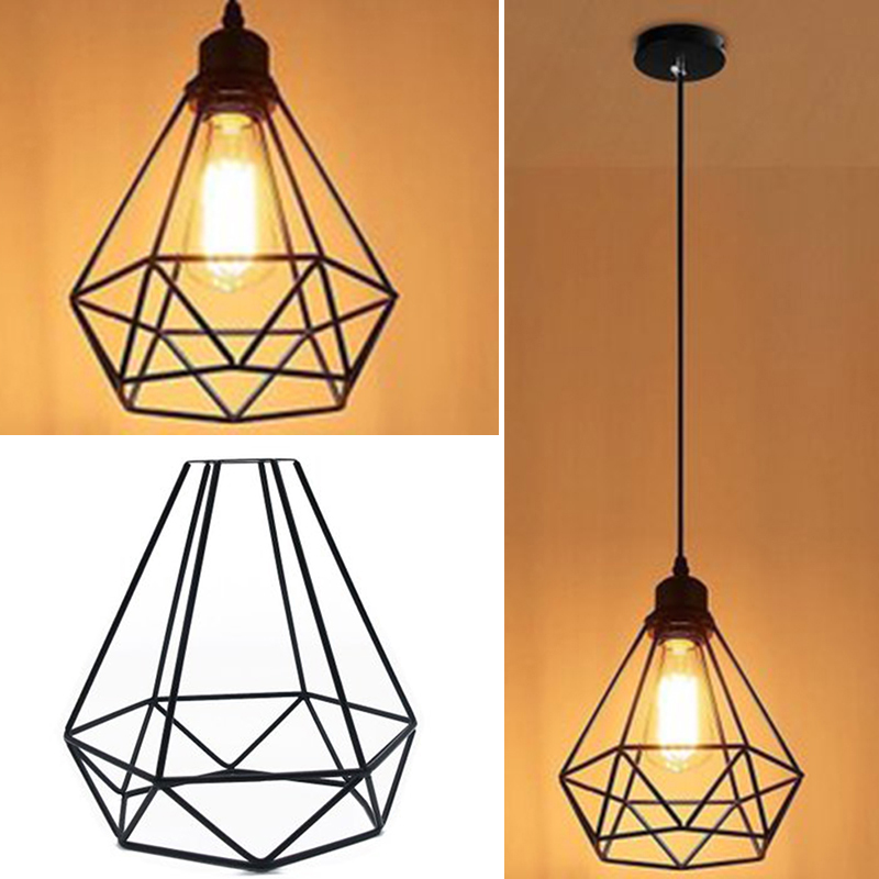 Lamp Cage Ceiling Light Shade Lampshade Pendant Lights Fixture Home Decoration