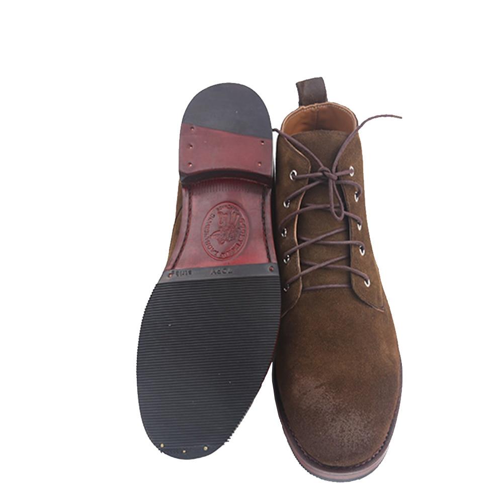 As Zapatos Goodyear Picture Alto Militar Tacón Vaca Welted Italiano Sipriks Importado Botines Hombres Botas India Genuino Suede Europea acWwHygqz1