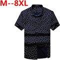 Envío libre más el tamaño XXXL marca 4xl 6xl 8xl 10xl estilo militar hombres ropa slim fit camisa casual de verano de manga corta camisas