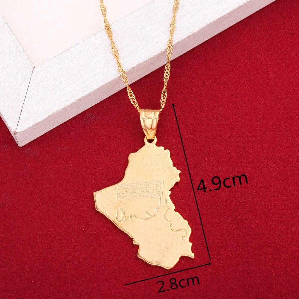 ASDWA Weltkarte Anh/änger Halskette,Vintage Libanon Flagge Karte Goldfarbe Anh/änger Charm Halskette Ethnischer Amulett Schmuck M/änner Frauen Geschenke Vatertagsgeschenk