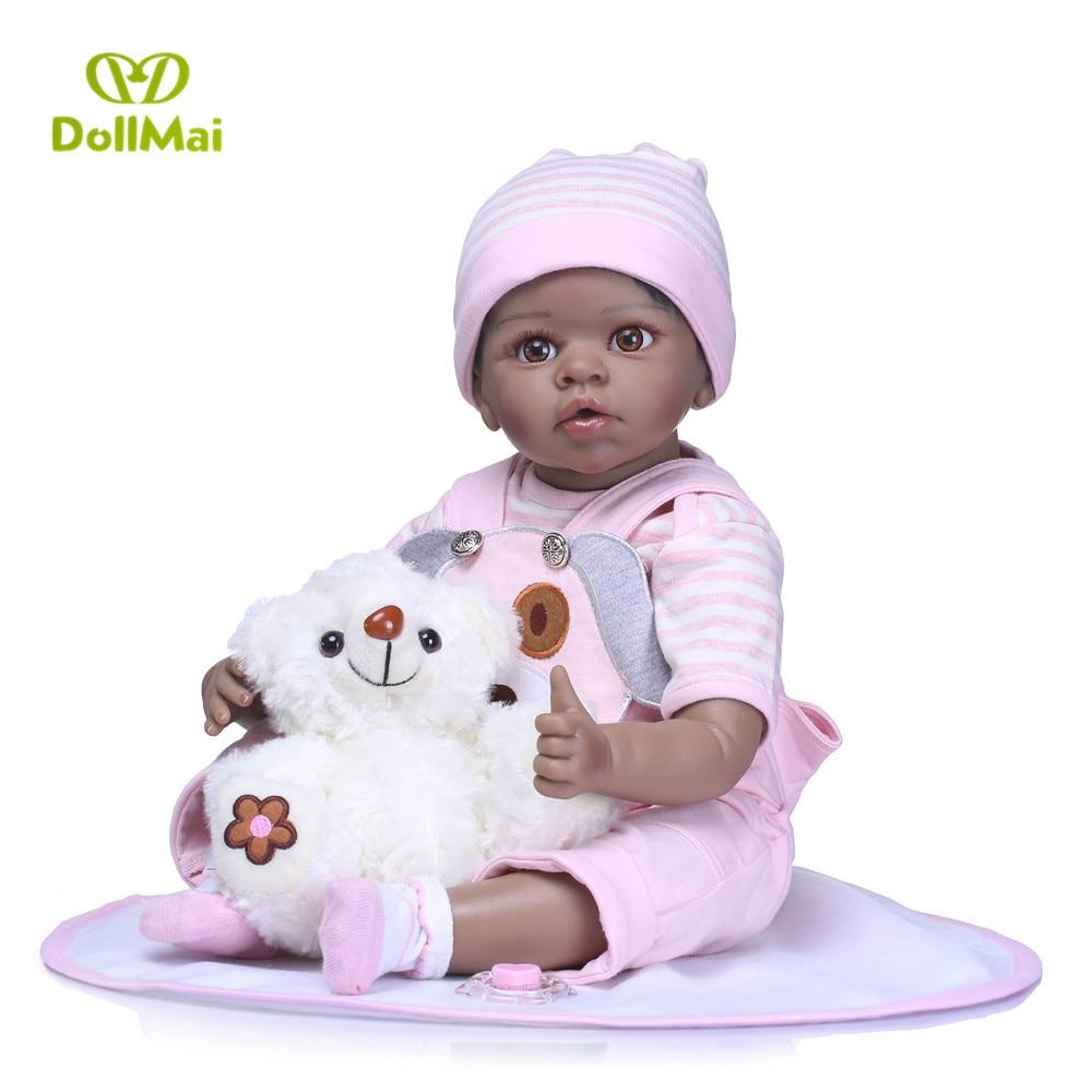 "Pink 12/"" Toddler Newborn Baby Boy Doll Black African Ethnic Cute Infant"