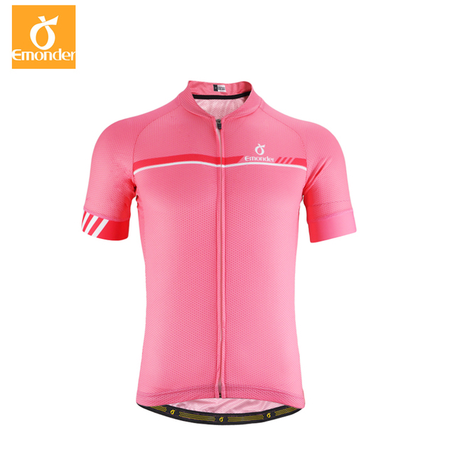 e00506c7e EMONDER Custom Cycling jersey Men Pro Team short sleeve cycling clothes  cool Breathable Italy Antislip Sleeve Cuff Ropa Ciclismo