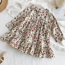 Kids Baby Korean Fashion Flower Dresses