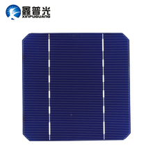 XINPUGUANG 50PCS mono PV Photovoltaic 140W  Solar Panel  for DIY kit 19% 125*125MM  monocrystalline Silicon 2.8W SOLAR cell