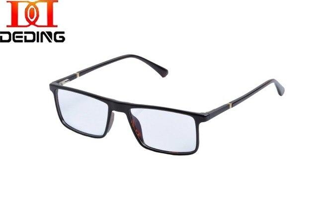 f468459ed1 Hombres rectangular Gafas marcos W/primavera bisagra prescripción Gafas  rxable moda mujer Gafas con lentes