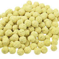 500g Bacteria House Bio Porous Ceramic Rings Bio Balls Filter Media With Mesh Bag For Aquarium