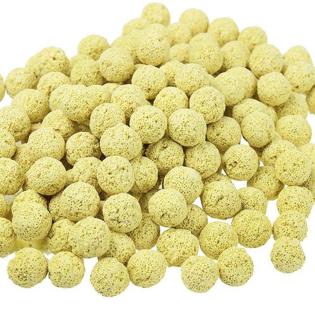 500g Casa Bactérias Bio Anéis Bio balls Filtro de Cerâmica Porosa mídia com Saco de Rede para o Cárter Aquário Canister Filtro Koi lagoa