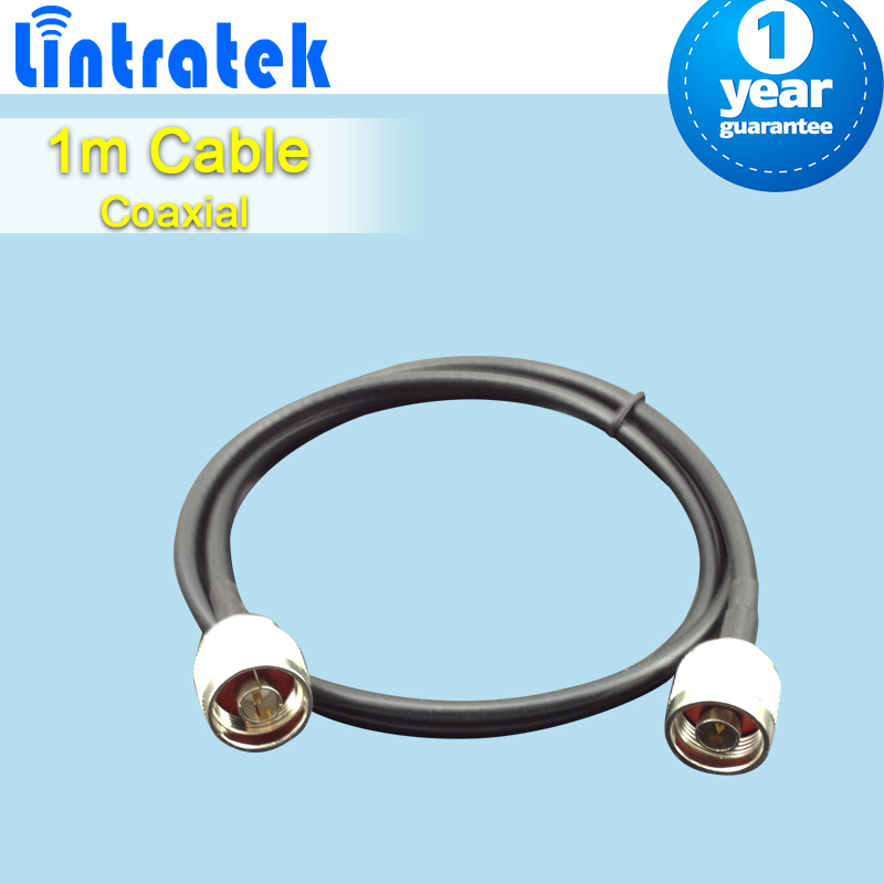 1 Meter N Male To N Male Connector 50ohm 5D Coaxial Cable For Mobile Phone Signal Booster Repeater Amplifier S44