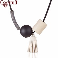 2017 Wholesale Women Jewelry statement necklaces & pendants tassel pendant Long necklace women collares mujer colar choker