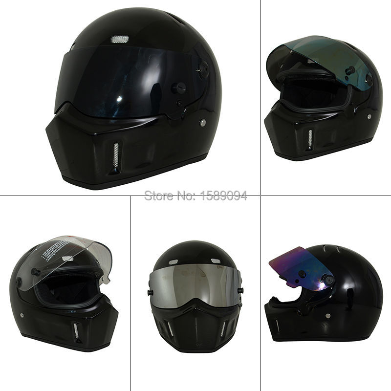 ФОТО Evomosa 2017 New Arrivals Safe Flip Up Motorcycle Helmet Casco Ciclismo Motor Bike Helmet For ATV Bright Black