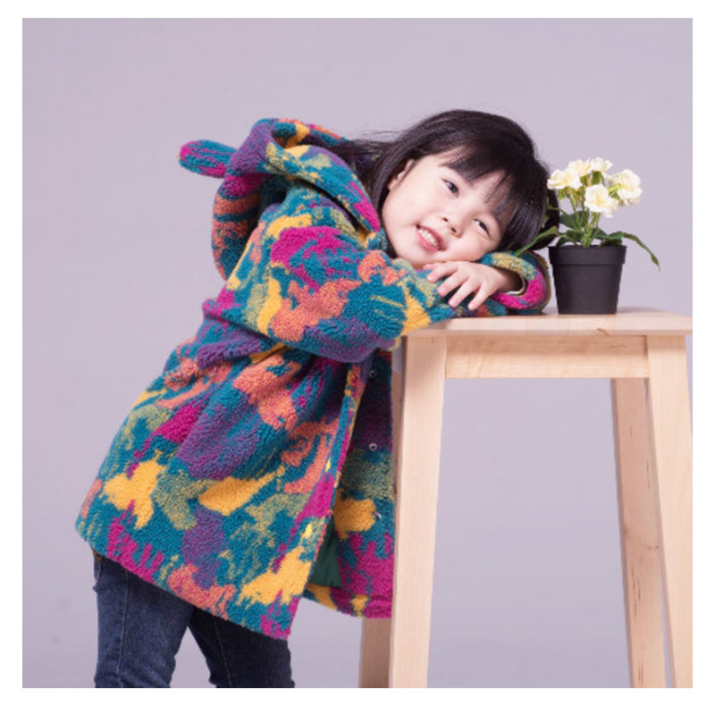2015 New Arrival Hooded Wool Coat Girls Fashion Girls Wool Winter Coats Thicken colorful Girls Coats and Jackets Winter цены онлайн
