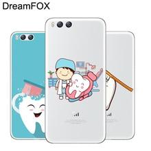 DREAMFOX M210 Dentist Dental Soft TPU Silicone Case Cover For Xiaomi Mi Note 2 3 4 5 6 8 SE M5 4C 4S 5C 5S 5X 6X A1 Plus