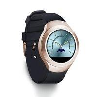 Смарт часы Очаровательная L6 sim карты IPS круглый Экран Нержавеющаясталь Bluetooth SmartWatch выдвинуть или IOS телефона android высокое качество
