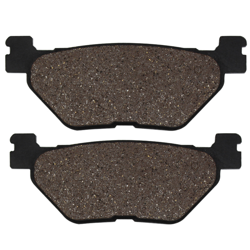Cyleto Motorcycle Rear Brake Pads for <font><b>YAMAHA</b></font> XP500 <font><b>Tmax</b></font> T-max XP 500 <font><b>2001</b></font> 2002 2003 T Max 530 2012 XP530 Max 2013 image