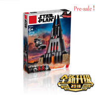 New Star Wars Darth Vader's Castle Compatible With Legoingly StarWars 75251 Building Blocks Bricks Boy Toys Christmas Gifts