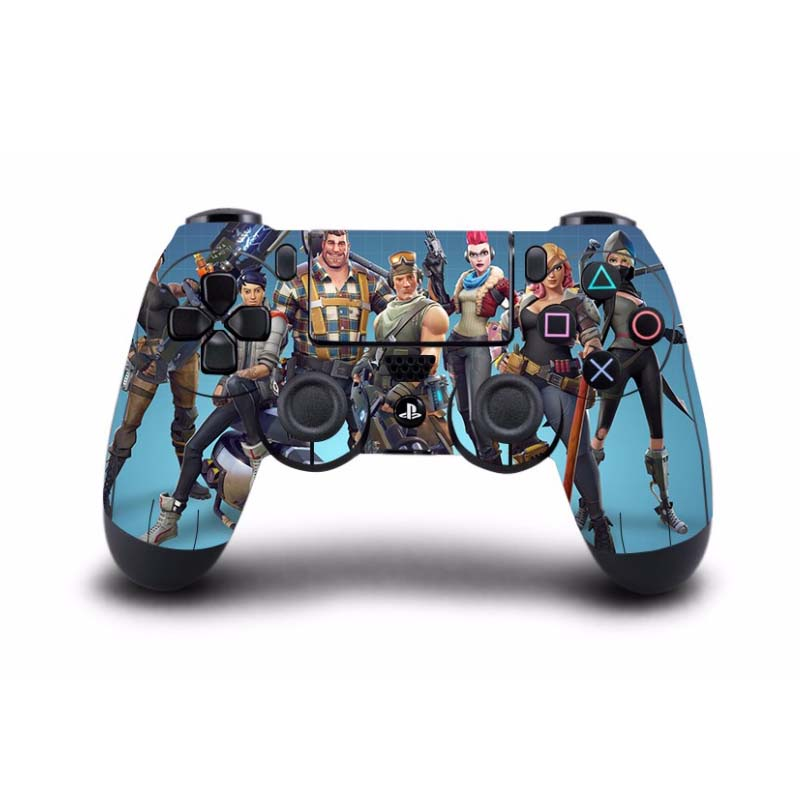 Classic Game Fortnite PS4 Skin Sticker Decal Vinyl For Sony PS4 PlayStation 4 for Dualshock 4 Game Controller PS4 Skins Sticker