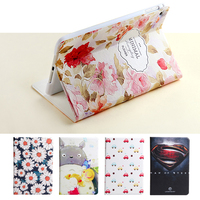 For IPad Mini 2 Mini 3 High Quality Fashion 3D Relief Embossing Painting Leather Cover Case