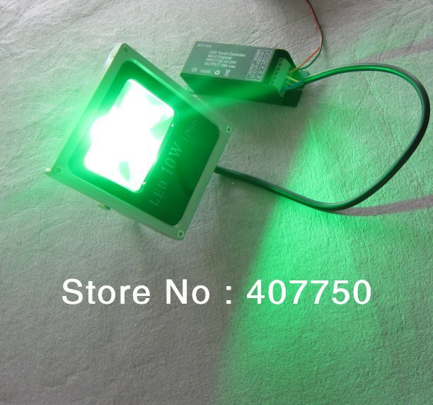 10W λεπτό περίβλημα 4 καλώδια σύνδεση rgb led πλημμύρας φως DC12V ip66 αδιάβροχο χρησιμοποιείται για τα σούπερ μάρκετ και τα παράθυρα αγορών