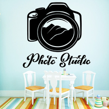 3D Camera Wall Sticker Self Adhesive Vinyl Waterproof Wall Art Decal For Kids Rooms Room Decor Vinyl Art Decal wallstickers diy cactus wall sticker self adhesive vinyl waterproof wall art decal nursery room decor wall art sticker murals