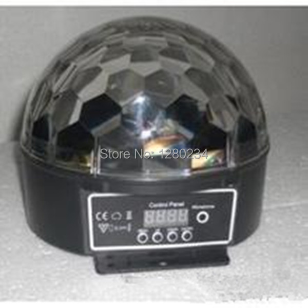 12pcs/lot china wholesale led disco light 6pcs*1w RGBWPY led mini ball Crystal Magic Ball wholesale china sv011 20pcs lot m6x17