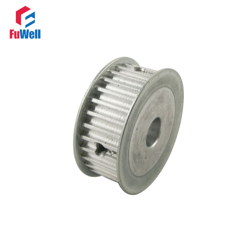 5M Type 30T Timing Pulley Inner Bore 6/6.35/8/10/12/12.7/14/15/16/17/20mm 30 Teeth 5mm Pitch 16mm Belt Width Timing Belt Pulley все цены