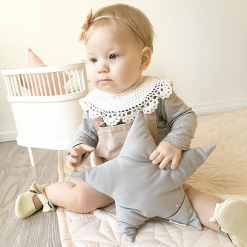 цена на Baby Bibs Bandana Other Baby Bib Cotton Lace Collar False Slobber Towel  Baby Girl Clothes Baby Bib Waterproof