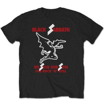 Good T Shirt Designs Graphic Men Black Sabbath Sold Our Soul O-Neck Short-Sleeve Shirts