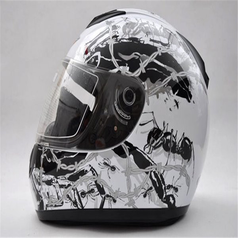 ФОТО Free shipping Paulo Full Face Helmet Motorcycle Helmet S-600-05
