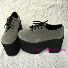 Princess sweet lolita shoes Loliloliyoyo antaina gothic Japanese design cos shoes custom thick heel and bottom