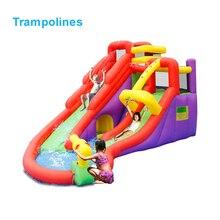 5601 ПВХ надувной батут прыгающий замок батут джемпер с скалолазанием игровая площадка для детей