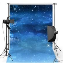 Noite Estrelado Céu Espaço Estrela Galáxia Parede Vinil pano de fundo pano de Alta qualidade de impressão Computador Fundos do partido