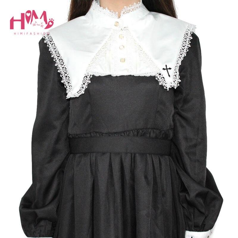 Women's Clothing Merry Christmas Dress Harajuku Womens Clothing Fashion Vintage Ladies Fall 2018 Female Women Black Dresses Gothic