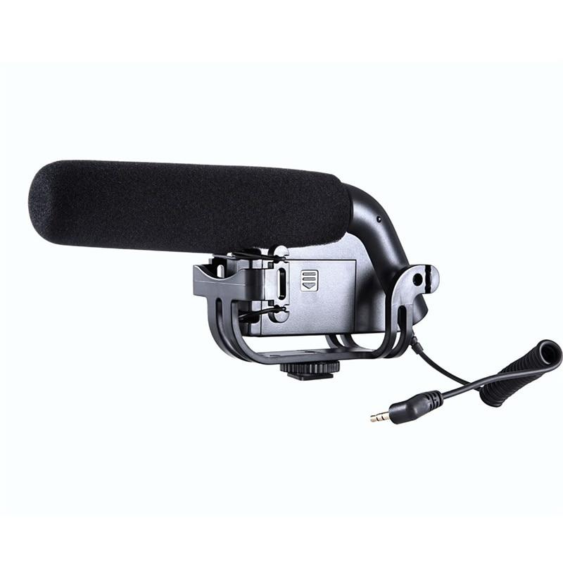 ФОТО High quality Microphone BOYA BY-VM190 Stereo Video Shotgun Microphone  Camera Camcorder Microphone
