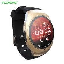 FLOVEME HD OLED Screen Bluetooth Smart Uhr Fitness Tracker Anrufe Benachrichtigung Für Android IOS Samsung iPhone Smartwatch