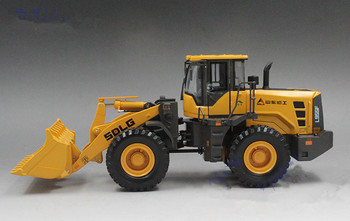 Rare,Collectible Alloy Model Gift 1:35 Scale SDLG L955F Engineering Machinery Wheel Loader Vehicles DieCast Toy Model Decoration