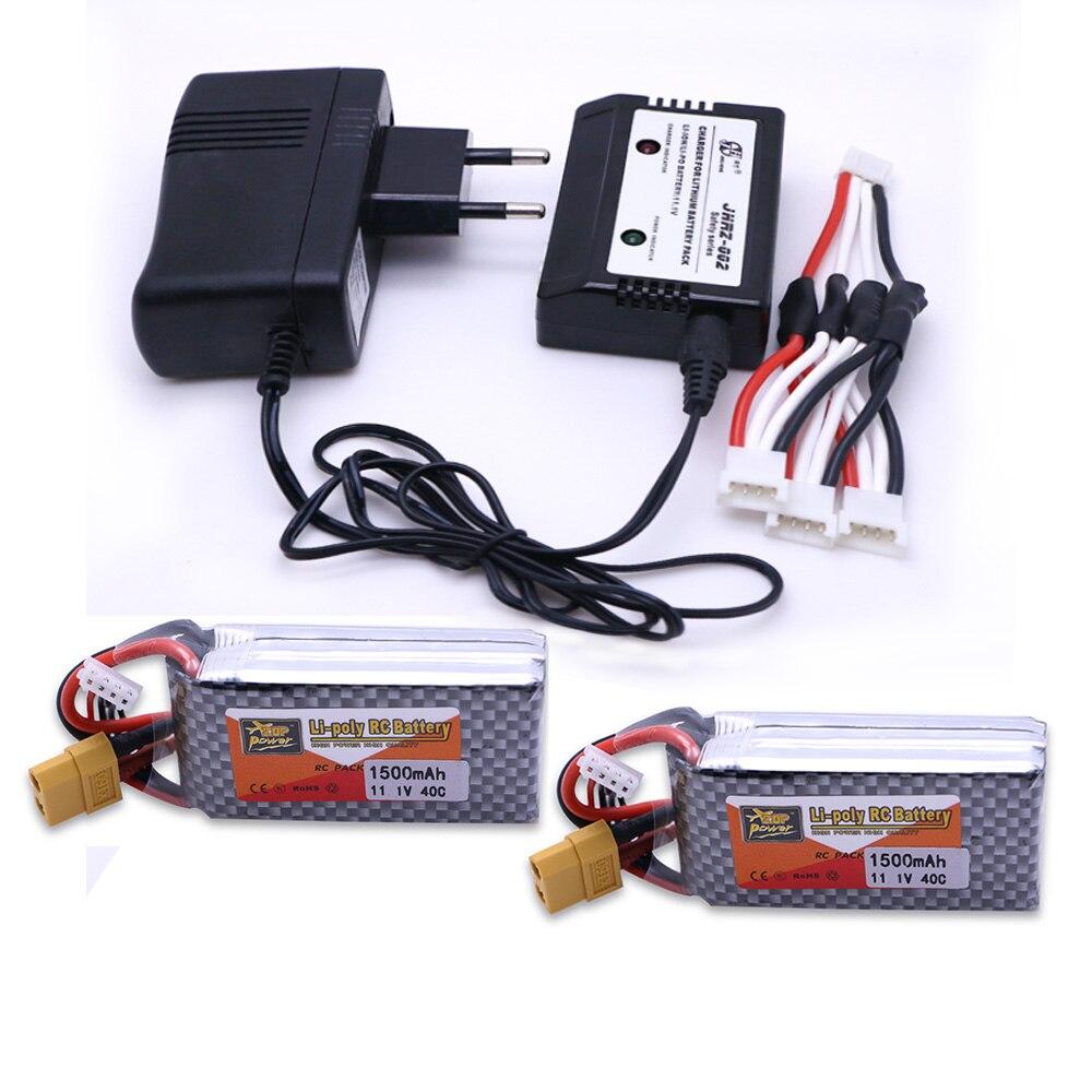 2pcs ZOP Power 11.1V 1500mAh 3S 40C Lipo Battery XT60  Plug  Balance charger  Rechargeable Battery браслет power balance бкм 9661