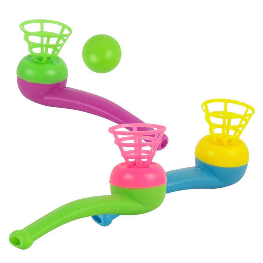 حار بيع 10 قطعة الأطفال البلاستيك الحنين الكلاسيكية الرجعية التقليدية تعليق تهب الكرة لعبة اللون عشوائي