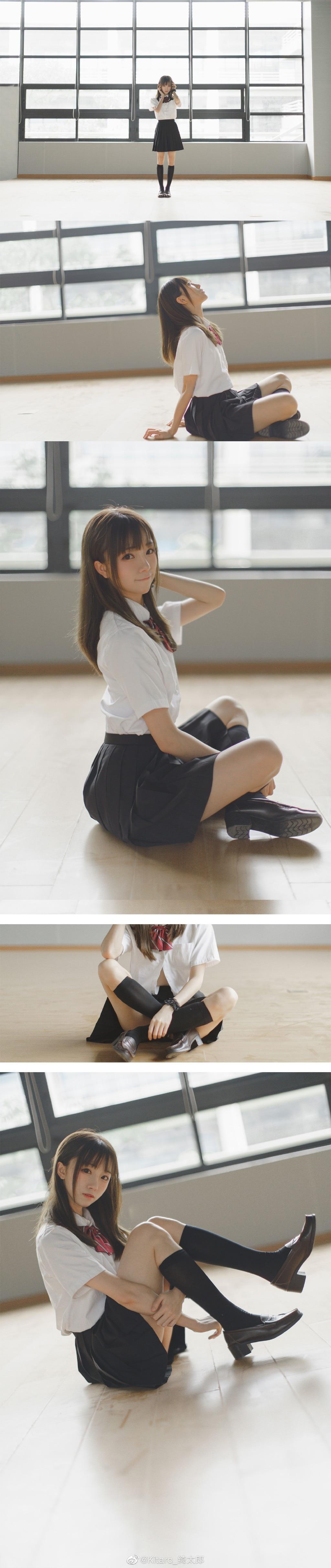 国内少女JK写真:Kitaro_绮太郎 最新写真-萌宅社|一个ACG资源基地、绅士之家Σ(゜ロ゜;)
