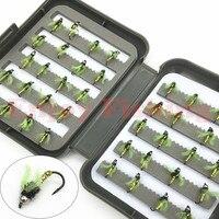40 unids/lote Dry Fly ganchos de pesca de la trucha salmón seco moscas señuelos anzuelo
