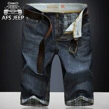Afs jeep 2017 sommer neue mode eine jeans shorts männer demin bermuda masculina denim-hosen
